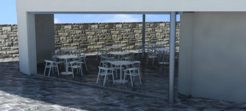 infografia-3d-diseño-cerramiento-terraza-club-padel-cortina-cristal-lateral