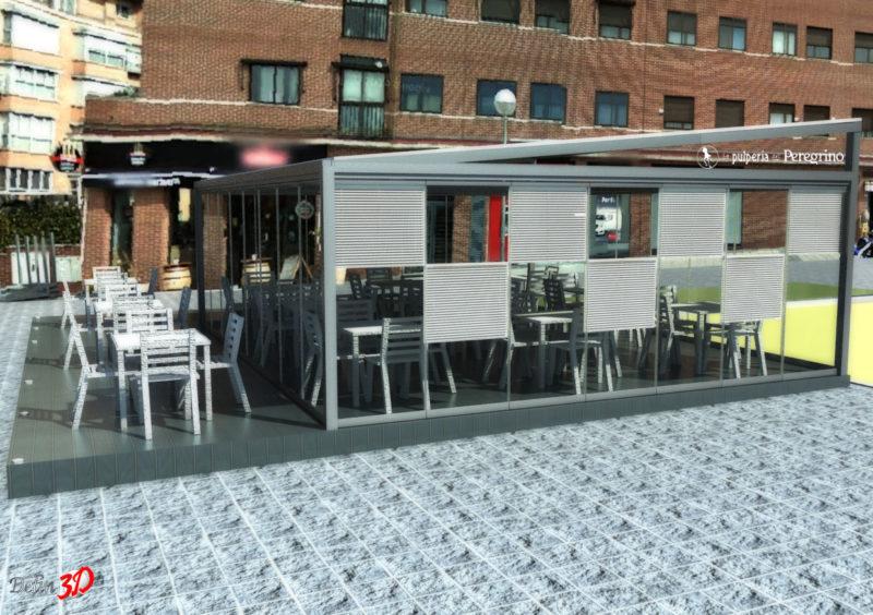 infografia-3d-diseño-terraza-hosteleria-cerramiento-cristal-vista-trasera