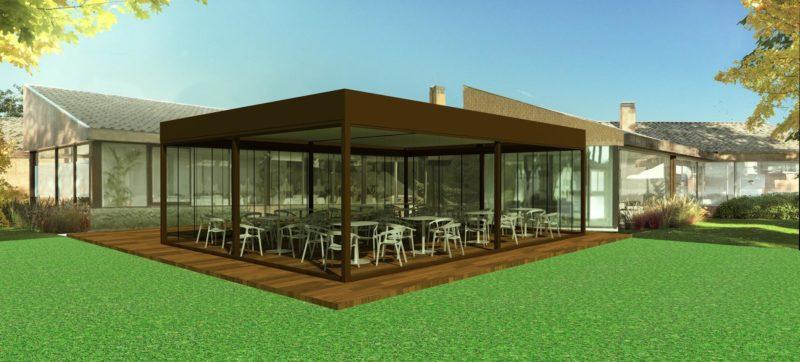 render-3d-diseño-cerramiento-terraza-club-golf