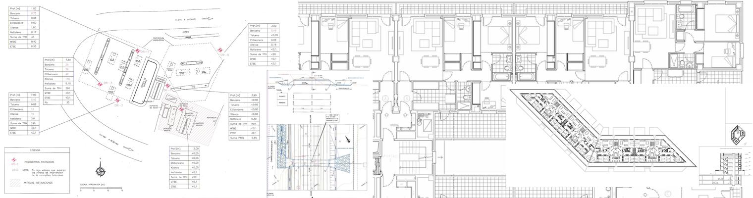 diseño de planos en autocad son planos de arquitectura planos de gasolineras y planos de obra civil
