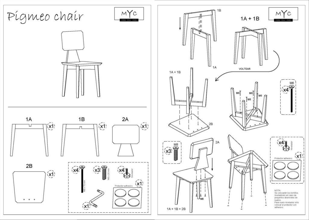silla-pigmeo-chair-instrucciones -montaje