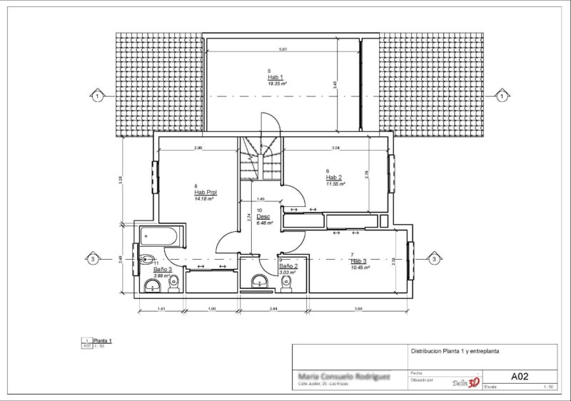 levantamiento-planos-inmueble-planta primera
